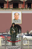 The Tiananmen or Gate of Heavenly Peace, is a famous monument in Beijing, the capital of China Stock Images