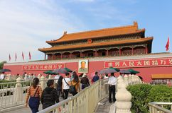 Tiananmen gate Stock Image