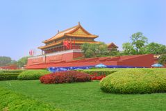 Tiananmen Gate Tower Stock Photography
