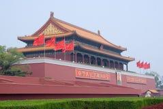 Tiananmen-Gatter Stockbild