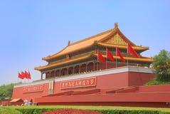 Tiananmen-Gatter-Kontrollturm Lizenzfreie Stockfotografie