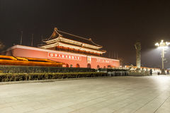 Tiananmen huabiao Stock Photography