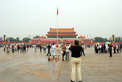 Tiananmen, Pékin Photo libre de droits