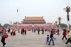 Tiananmen-Platz Stockbild