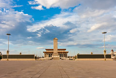 Tiananmen-Platz, Peking, China Lizenzfreies Stockfoto