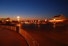 Tiananmen, porte de paix céleste Photographie stock libre de droits