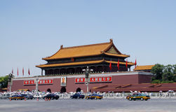 Tiananmen-Quadrat Lizenzfreies Stockfoto