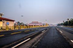 Tiananmen Quadrat Stockfotografie