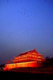 Tiananmen. The rostrum of Tiananmen night scene pictures Stock Photos