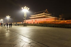 Tiananmen's night Stock Photo