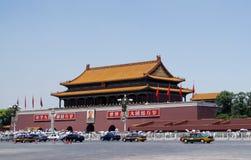 Tiananmen-Square. AND Car,BEIJING CHINA Royalty Free Stock Photo