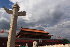 Tiananmen Square Royalty Free Stock Images