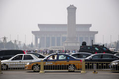 Tiananmen Square Beijing China Royalty Free Stock Photography