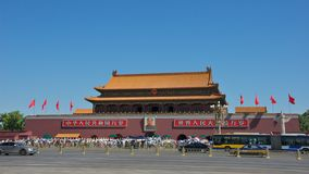 Tiananmen Square in Beijing Royalty Free Stock Photos