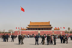 Tiananmen Square, China Royalty Free Stock Images