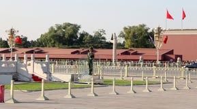 Tiananmen Square (Honor Guard) -- Beijing, China Stock Photos