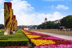 Tiananmen Square, Beijing, China stock photography