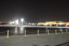 Tiananmen square night scene Stock Image