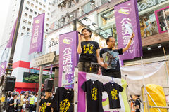 Tiananmen Square protests event in Hong Kong Stock Photo