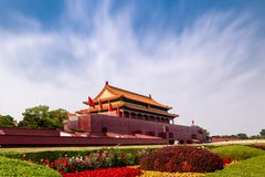 Free 天安门北京故宫城门、中国国家象征。Tiananmen Square, The Forbidden City Gate Of Beijing, The National Symbol Of Ch Stock Photo - 157780870