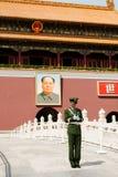 Tiananmen-Tor Stockbild