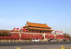 Tiananmen-Tor Stockfoto