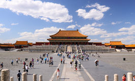 Tiananmen under sky Stock Photo
