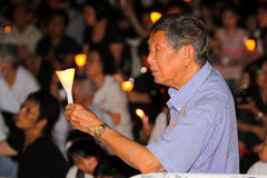 Tiananmen Vigil in Hong Kong 2009 Stock Image