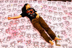 Tiananmen Vigil in Hongkong Royalty-vrije Stock Afbeelding