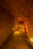 Tianbaozhai隧道在竹海域  免版税库存图片
