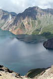Tianchi βουνών changbai της Κίνας Στοκ εικόνα με δικαίωμα ελεύθερης χρήσης