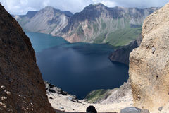 Tianchi βουνών changbai της Κίνας Στοκ φωτογραφίες με δικαίωμα ελεύθερης χρήσης