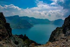 Tianchi βουνών Changbai Στοκ Εικόνες