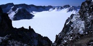 Tianchi da montanha de Changbai Imagem de Stock
