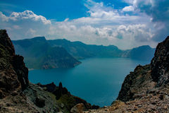 Tianchi de montagne de Changbai Photo stock