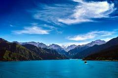 Tianchi Lake Stock Images