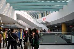 tianfu подземки станции квадрата фарфора chengdu Стоковая Фотография