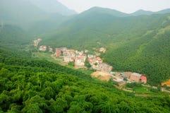 Tianhaungping wioska Zdjęcia Stock