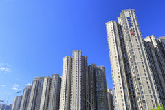 Tianhe residential buildings Stock Image