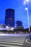 Tianhelu街道在晚上 免版税图库摄影