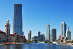 Tianjin City Landscape Royalty Free Stock Photo