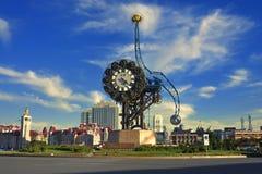 Tianjin City Landscape——Millennium Bell Stock Photos