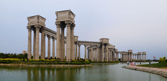 Tianjin city scenery of the city, China Royalty Free Stock Photography