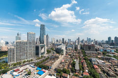 Tianjin cityscape in daytime Royalty Free Stock Images