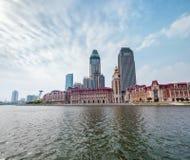 Tianjin cityscape of jinwan plaza Royalty Free Stock Photos