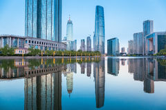 Tianjin cityscape Royalty Free Stock Photos