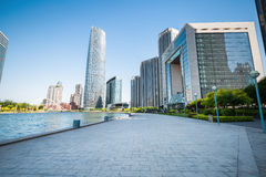 Tianjin cityscape Stock Photo