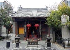 Tianjin cyny Hau świątyni krajobraz zdjęcie stock