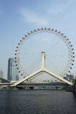 Tianjin eye Royalty Free Stock Image