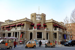 Tianjin Italian style,China. Tianjin memory exhibition hall located in the Italian style street Stock Photo